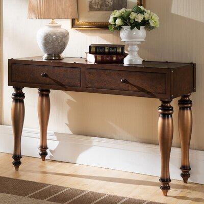 Leick Furniture Gilded Classics Console T..