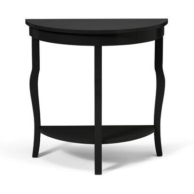 kate and laurel lillian console table reviews wayfair. Black Bedroom Furniture Sets. Home Design Ideas