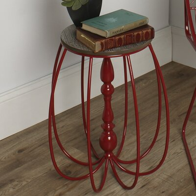 Kate and Laurel Tenterden Metal/Wood End Table
