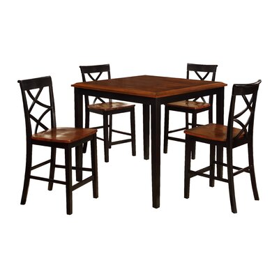 Breakwater Bay Belmoor 5 Piece Counter Height Dining Set