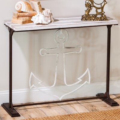 Breakwater Bay Oyster Rocks Console Table