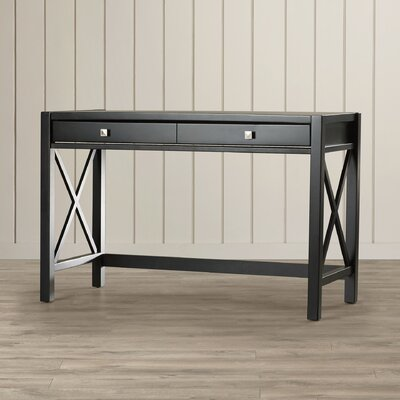 Breakwater Bay Weymouth Writing Desk with 1 Drawer
