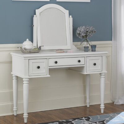 Breakwater Bay Kenduskeag Vanity with Mirror