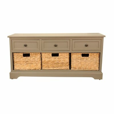 Breakwater Bay Lady Lake Storage Entryway Bench