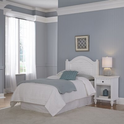 Breakwater Bay Kenduskeag Panel 2 Piece Bedroom Set