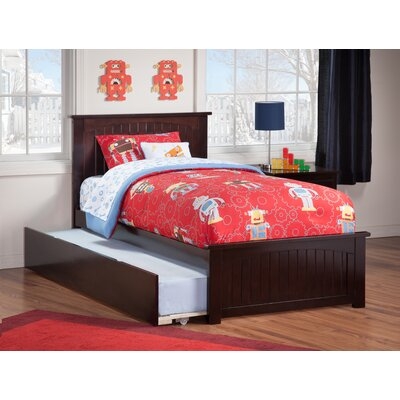 Breakwater Bay Oakmere Panel Bed with Trundle