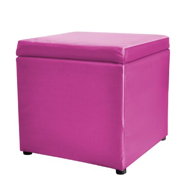Urban Shop Square Storage Ottoman