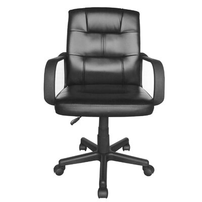 Urban Shop High-Back Leather Executive Of..
