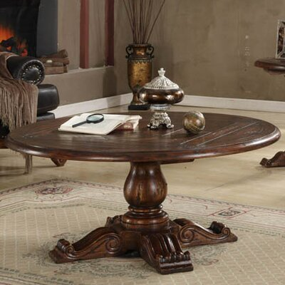 Eastern Legends Burgundy Coffee Table