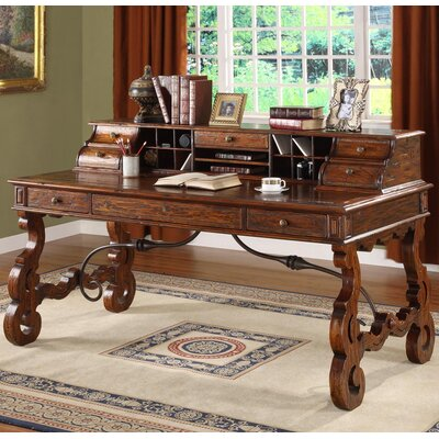 Eastern Legends Burgundy Writing Desk