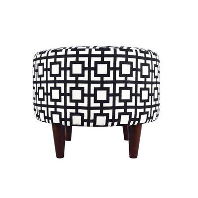 MJL Furniture Sophia Gigi Round Ottoman