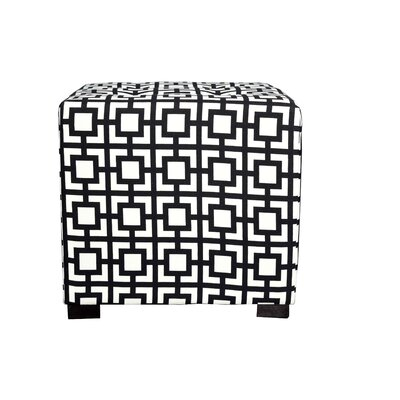 MJL Furniture Merton Gigi Square 4-Button Upholstered Ottoman