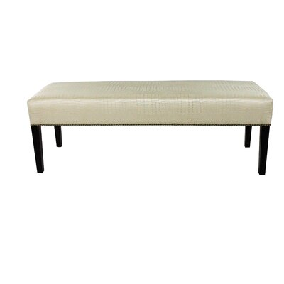 MJL Furniture Tillie Upholstered Bench