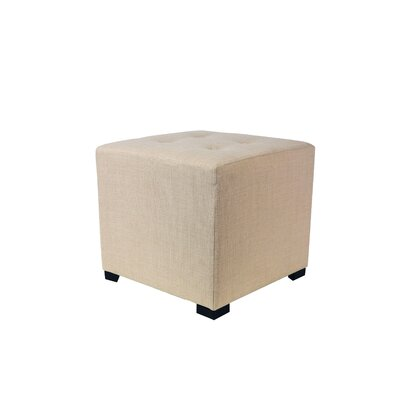 MJL Furniture 4 Button Tufted Ottoman
