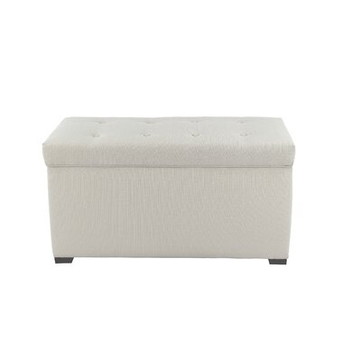 MJL Furniture Angela Upholstered Storage Bench