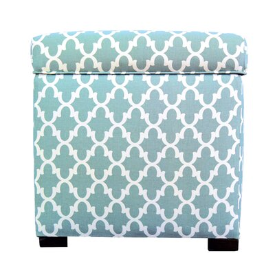 MJL Furniture Fulton Square Shoe Storage Ottoman