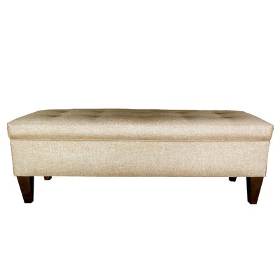 MJL Furniture Brooke Upholstered Storage Bench