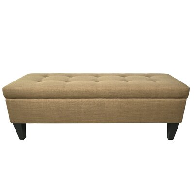 MJL Furniture Allure Wood Storage Bedroom Bench