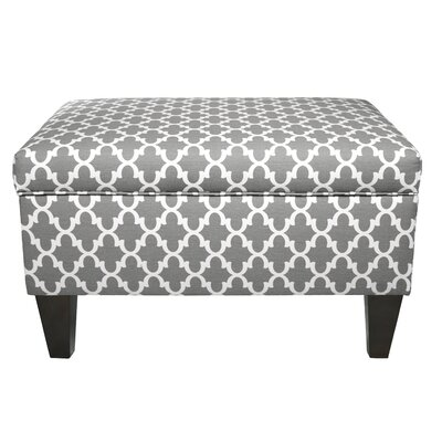 MJL Furniture Brooklyn Upholstered Square Legge..