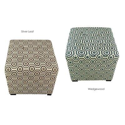 MJL Furniture Merton Cott-Ashton Upholstered Cube Ottoman
