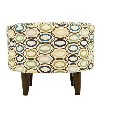 MJL Furniture CollVera Sophia Round Standard Ottoman