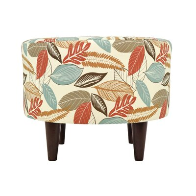 MJL Furniture Flora-Foliage Sophia Ottoman