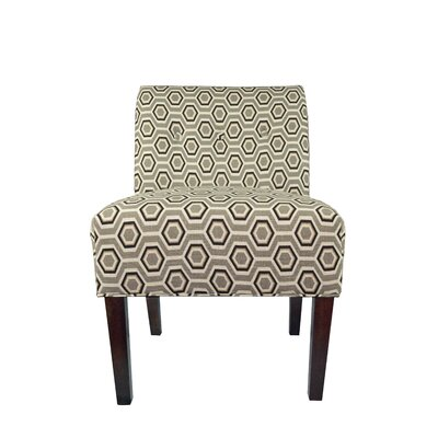 MJL Furniture Samantha Button Tufted Cott-Ashton Slipper Chair