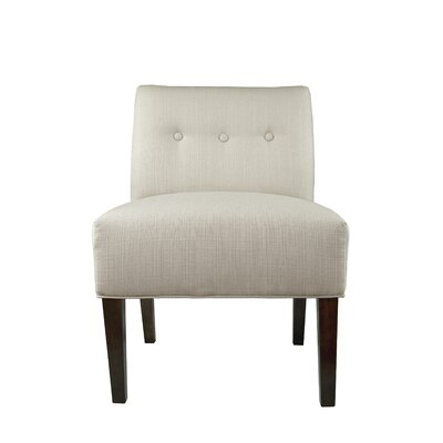 MJL Furniture Samantha Button Tufted Sachi Slipper chair
