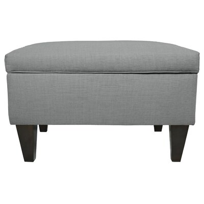 MJL Furniture Key Largo Legged Box Storage Ottoman
