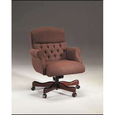 Triune Business Furniture Low-Back Leather Executive Chair