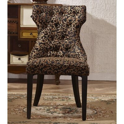 Corzano Designs Traditional Parsons Chair..