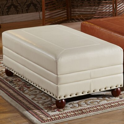 Corzano Designs Leopold Royal Stitching Ottoman Bench