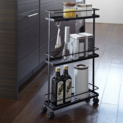 Yamazaki USA Inc. Tower Rolling Kitchen Storage Cart
