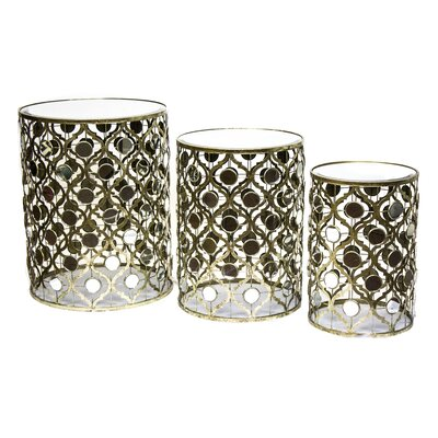 Sagebrook Home End Table (Set of 3)