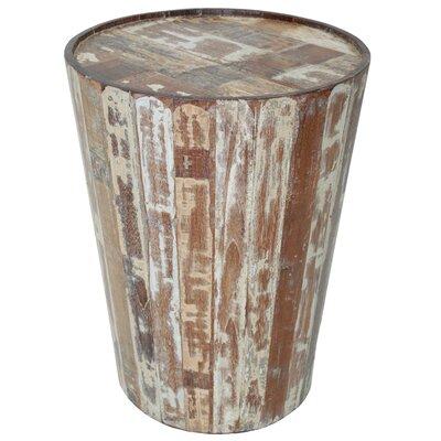 The Urban Port Classy Barrel Coffee Table