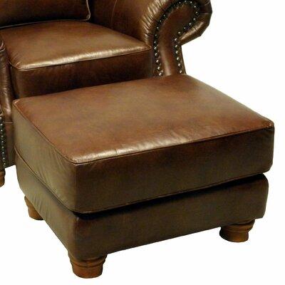 Wildon Home ® Leather Ottoman Image