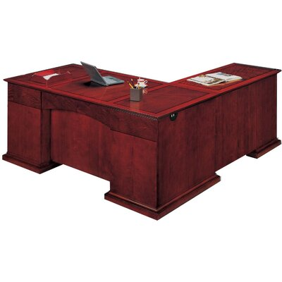 Flexsteel Contract Del Mar L-Shape Executive Desk
