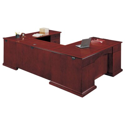 Flexsteel Contract Del Mar Executive Desk with Right Return