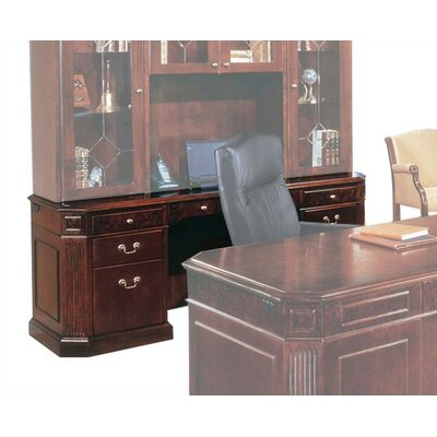 Flexsteel Contract Oxmoor Executive Desk with Out Return Moulding Image
