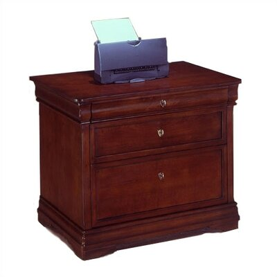 Darby Home Co Knickerbocker 2 Drawer Filing Cabinet