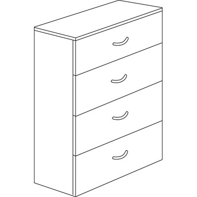 Flexsteel Contract Fairplex 4-Drawer  File