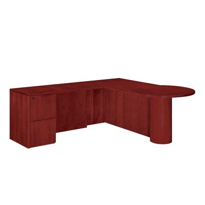 Flexsteel Contract Saratoga L-Shape Executive Desk
