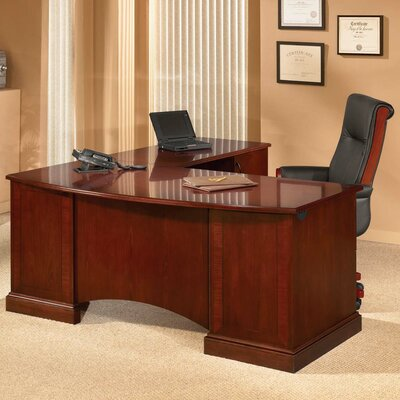 Flexsteel Contract Belmont Executive Desk with Return