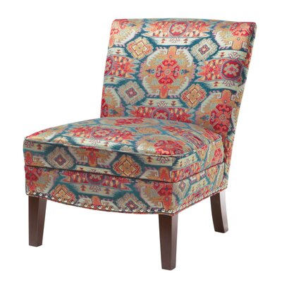 Bungalow Rose Carroll Curved Back Slipper Chair