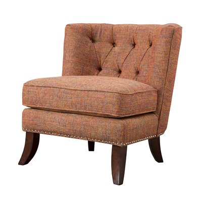 Mercury Row Ells Tufted Slipper Chair
