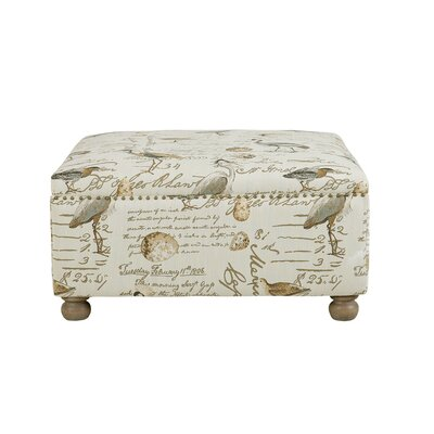 Loon Peak Fortine Cocktail Square Ottoman