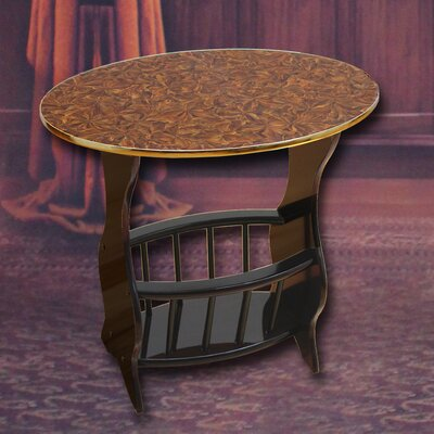 Uniquewise Oval End Table