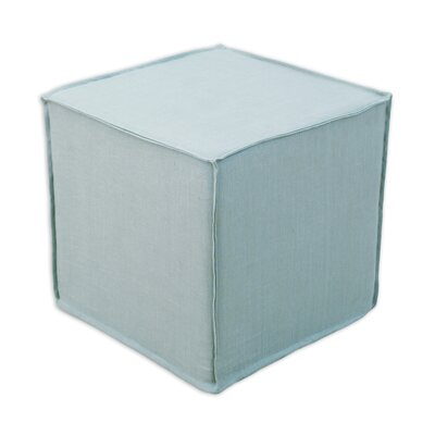 Brite Ideas Living Circa Solid Seamed Cube Ottoman
