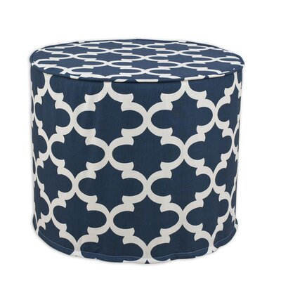 Brite Ideas Living Fynn High Corded Foam Ottoman
