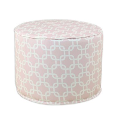 Brite Ideas Living Gotcha Bella Round Corded Foam Ottoman